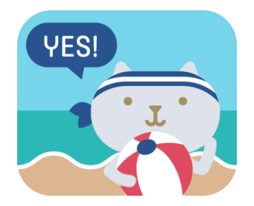Summertime Stickers for iMessage by Design 73 messages sticker-8