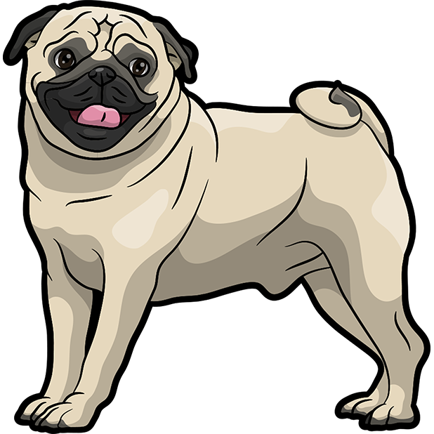 iPugmoji - Pug Emoji & Stickers messages sticker-10