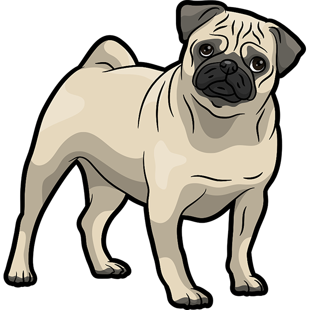 iPugmoji - Pug Emoji & Stickers messages sticker-9
