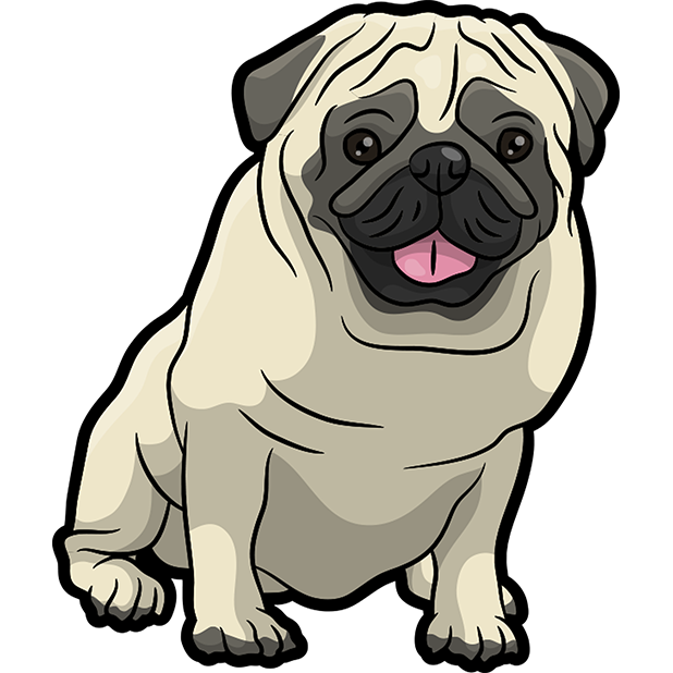 iPugmoji - Pug Emoji & Stickers messages sticker-3