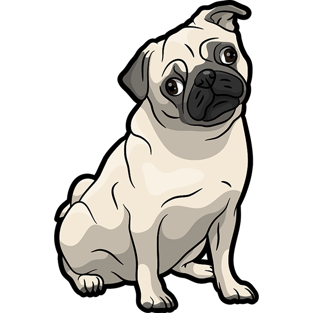 iPugmoji - Pug Emoji & Stickers messages sticker-4