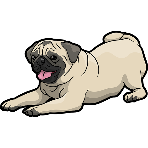 iPugmoji - Pug Emoji & Stickers messages sticker-0