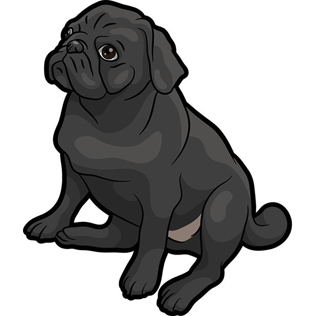 iPugmoji - Pug Emoji & Stickers messages sticker-2