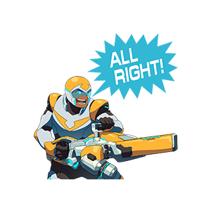 Voltron Stickers messages sticker-1