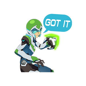 Voltron Stickers messages sticker-4