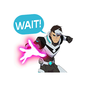 Voltron Stickers messages sticker-6