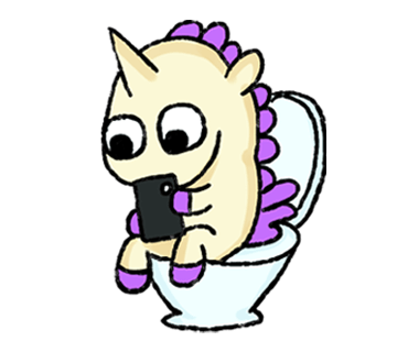 Unicorn Sticker - pony stickers for iMessage messages sticker-11