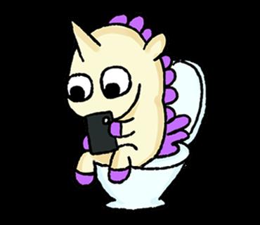 Unicorn Sticker - pony stickers for iMessage messages sticker-11