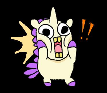 Unicorn Sticker - pony stickers for iMessage messages sticker-10