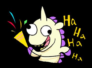 Unicorn Sticker - pony stickers for iMessage messages sticker-4