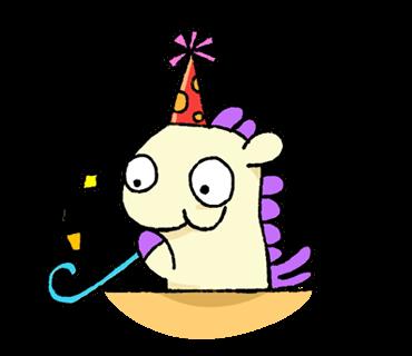 Unicorn Sticker - pony stickers for iMessage messages sticker-2