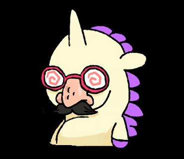 Unicorn Sticker - pony stickers for iMessage messages sticker-9