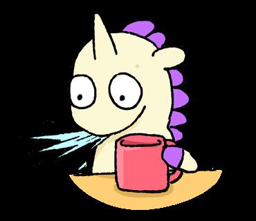Unicorn Sticker - pony stickers for iMessage messages sticker-1