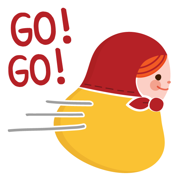 Little Matryoshka Stickers for iMessage messages sticker-10