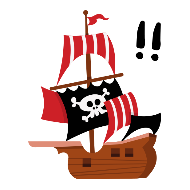 Animated Pirate Stickers messages sticker-9