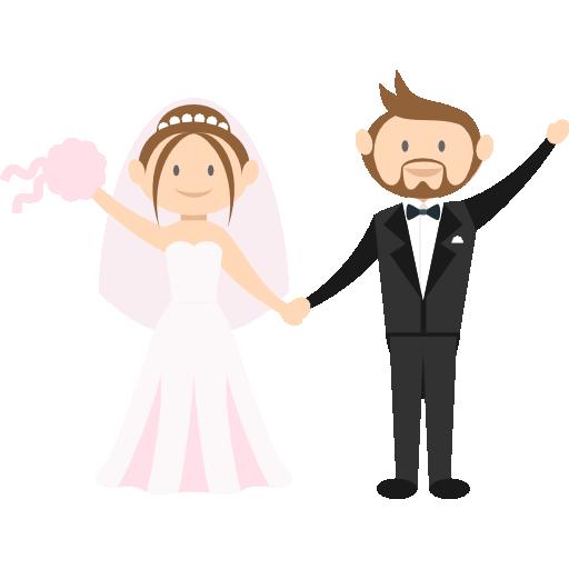 WeddingMoji - Wedding Stickers for iMessage messages sticker-9