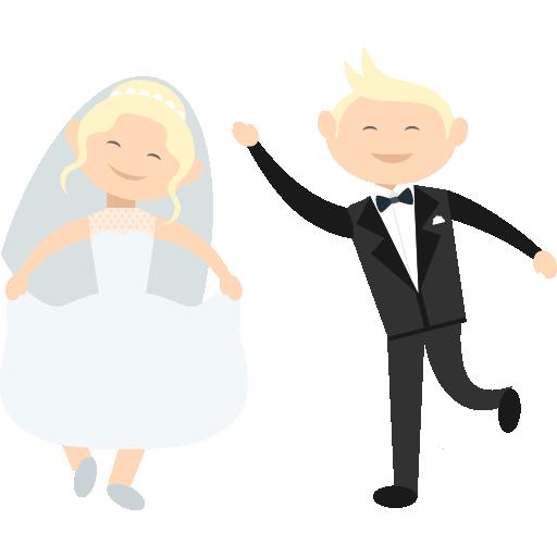WeddingMoji - Wedding Stickers for iMessage messages sticker-5