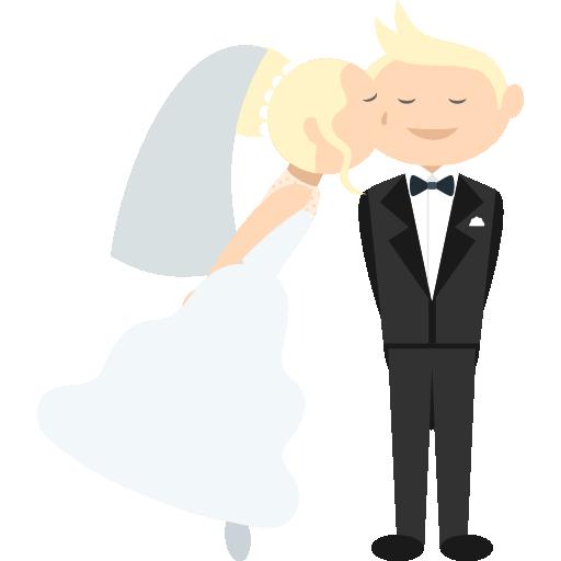 WeddingMoji - Wedding Stickers for iMessage messages sticker-1