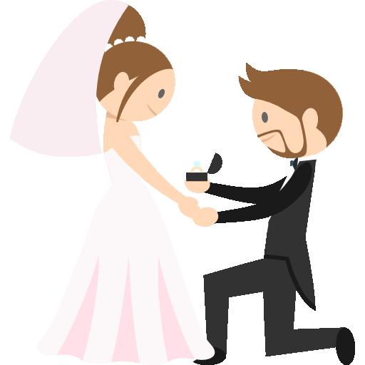 WeddingMoji - Wedding Stickers for iMessage messages sticker-8