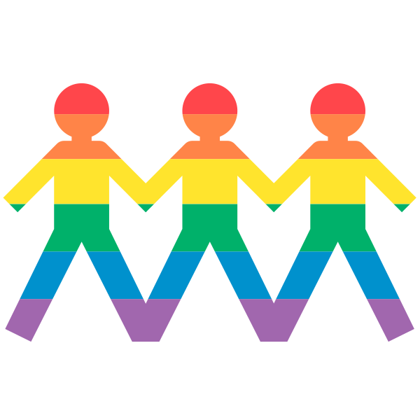 GAYJI - Gay Pride LGBT Emoji for iMessage messages sticker-9