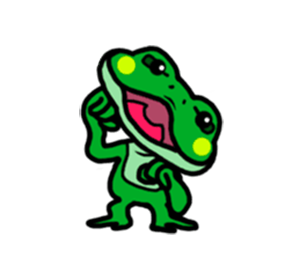 Funny Frog! messages sticker-9