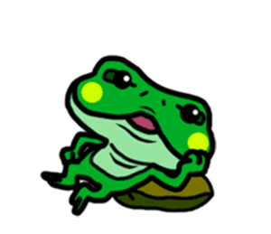 Funny Frog! messages sticker-1