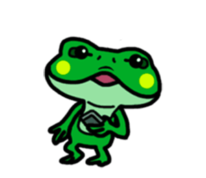 Funny Frog! messages sticker-2