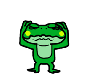 Funny Frog! messages sticker-6