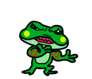 Funny Frog! messages sticker-10