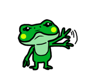 Funny Frog! messages sticker-5