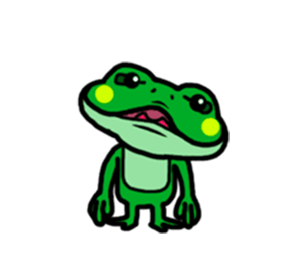Funny Frog! messages sticker-4