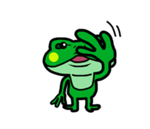 Funny Frog! messages sticker-3