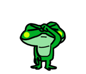 Funny Frog! messages sticker-0