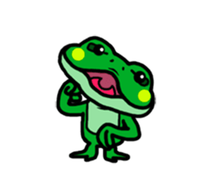 Funny Frog! messages sticker-8