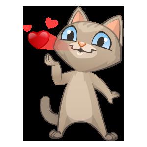 Zozo Cat Stickers messages sticker-7