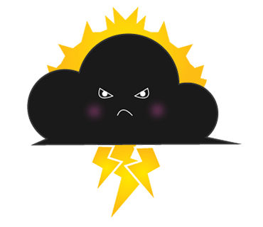 Weathermoji - cute weather stickers pack messages sticker-4