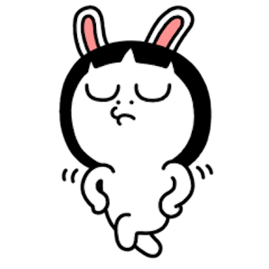 Sister Rabbit messages sticker-3