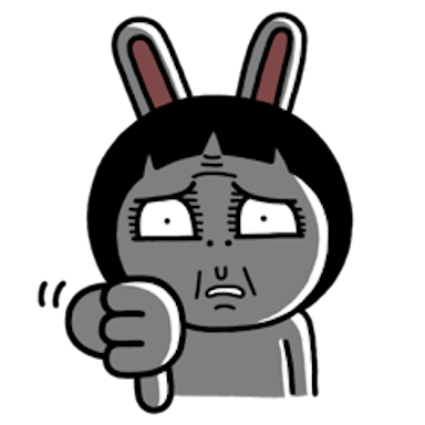 Sister Rabbit messages sticker-7