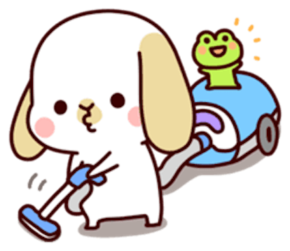 Kinkin Lovely Dog messages sticker-7
