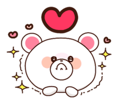 Sweety Bear messages sticker-4
