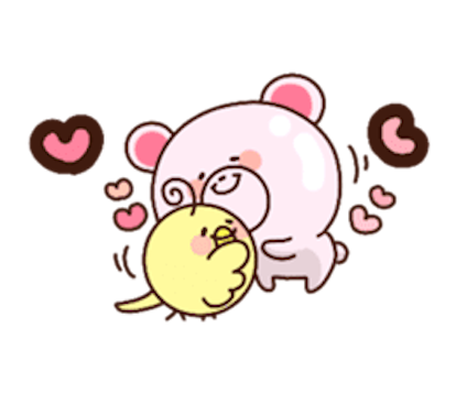 Sweety Bear messages sticker-8