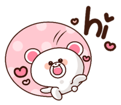 Sweety Bear messages sticker-2