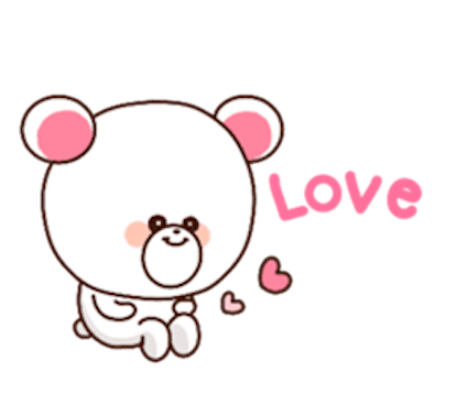 Sweety Bear messages sticker-9