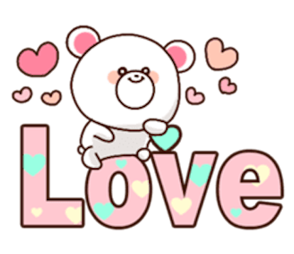 Sweety Bear messages sticker-6