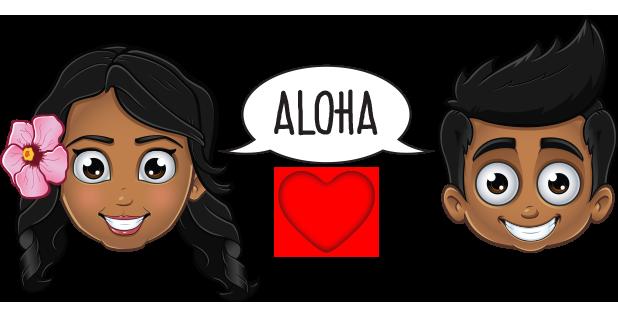 Pidginmoji - Wahine Stickers messages sticker-5