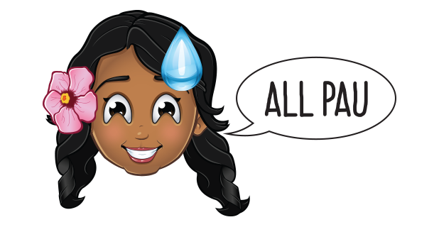 Pidginmoji - Wahine Stickers messages sticker-4