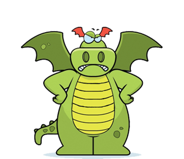 Dramoji - cute dragon stickers pack messages sticker-1