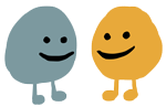 Bups - Tiny characters with big emotions messages sticker-4