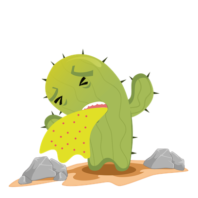 Crazy Cactus messages sticker-10