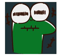 Big Eyed Frog messages sticker-6